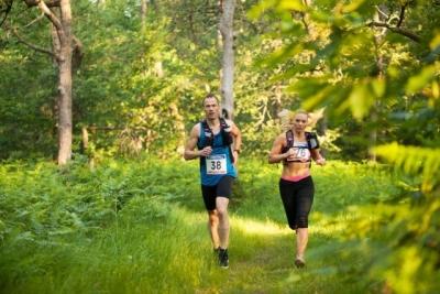 Trailrun training Ronostrand zaterdag 13 januari 2018
