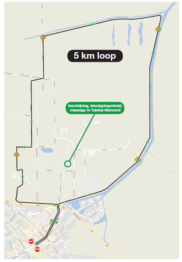 5 km Parkoers 2018